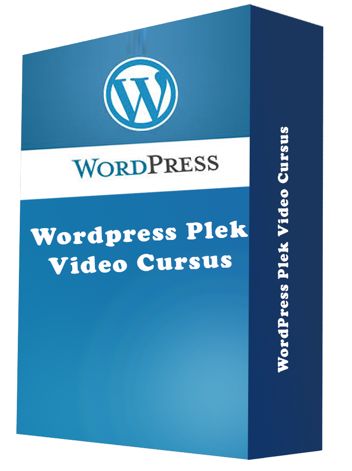 WordPress Plek Video Cursus